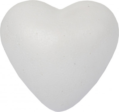 Srdiečko polystyrén - 8 cm