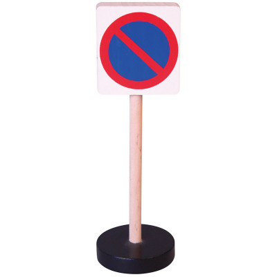 Dopravní značka dřevěná - zákaz stání