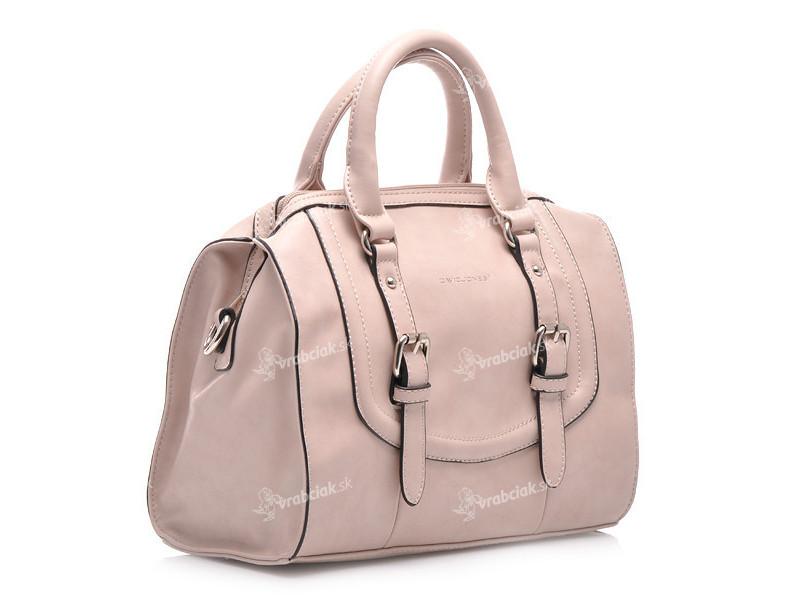 Impozantní pudrová kabelka do ruky 1 e33682e422d