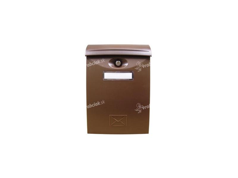 afcdadd21 schránka poštová plastová, 240x340x90mm HN