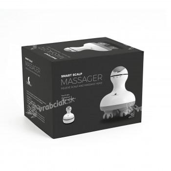 Masážny prístroj pre masáž hlavy