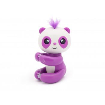 Čarovná panda na prst, Finger Panda - interaktívna hračka, fialová