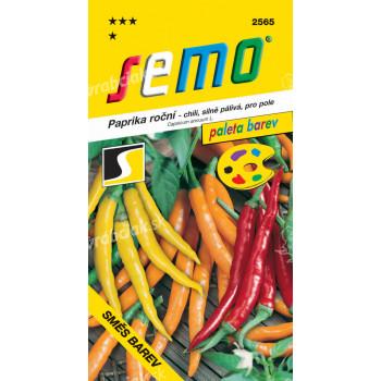 Semo Paprika zeleninová pálivá chili - zmes farieb 0,4g - séria PALETA / SHU 50 000 /