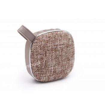 Bezdrôtový Bluetooth reproduktor X25 s pútkom, hnedý