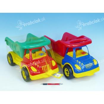 Auto sklápěč plast 50cm - mix barev