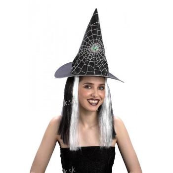 Čarodejnícky klobúk s vlasmi