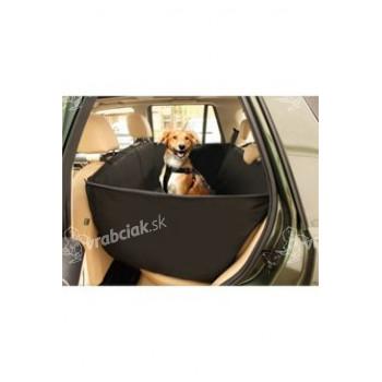 Ochranný autopoťah sedadlá 148x135cm čierny KAR 1ks