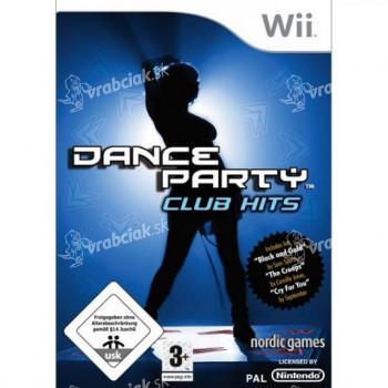 Tanečná hra Dance Party: Club Hits (Nintendo Wii) - VÝPREDAJ
