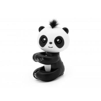 Čarovná panda na prst, Finger Panda - interaktívna hračka, čierna