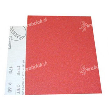 papier brus. na drevo 145 zr.180, 230x280mm