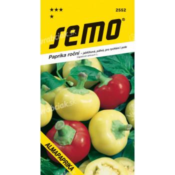 Semo Paprika zeleninová pálivá - Almapaprika jablíčková 0,4g / SHU 2 000 /