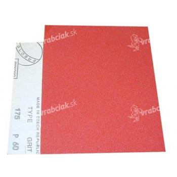 papier brus. na drevo 145 zr.100, 230x280mm
