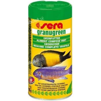 Sera Granugreen bylinožravé ryby granule 250 ml