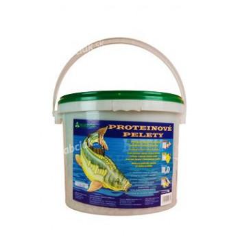 Proteínové pelety pre kapry granule 6mm 5kg Med