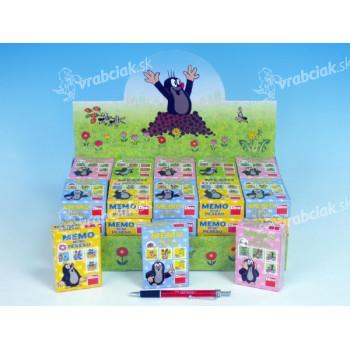 Minipexeso Krtko 6,5x9cm spoločenská hra v papierovej krabičke