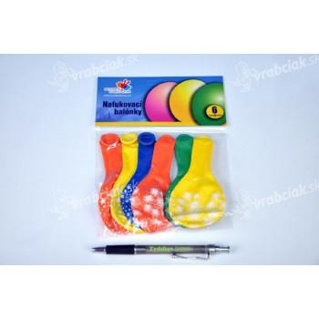 """Balónik nafukovacie 11 """"12cm karneval"""