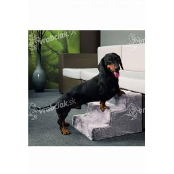 Schody pre psa Easy Step Dog 43x41x29cm šedej KAR