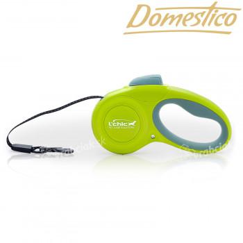 Domestico vodítko samonavíjacia Easy Lock 3m / 12kg zelené