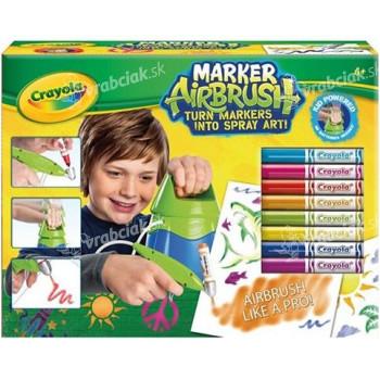 Kresliace štúdio - Crayola Marker Airbrush modrý