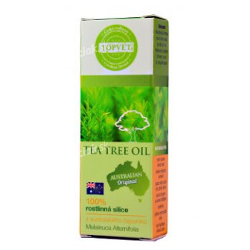 Tea Tree Oil silica 100% TOPVET 10ml