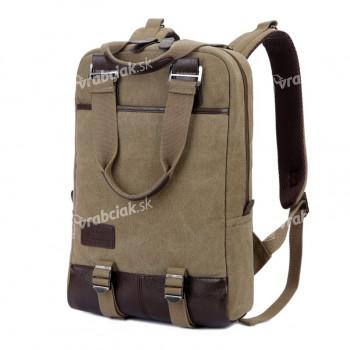 Študentský batoh, hnedý