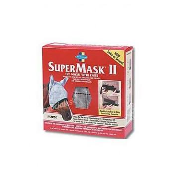 Farnam Supermask II bez uší veľ. ARAB šedo-čierna