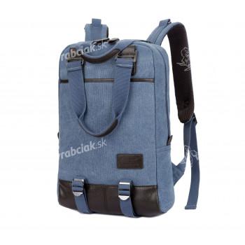 Študentský batoh, modrý