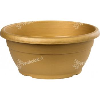 Žardina Similcotto broušená - zlatá 20 cm