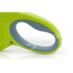 Vodítko COZY GRIP zelené - detail rukojeť GEL-TECH