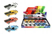 Auto Welly 1970 Dodge Challenger T / A kov 12cm voľný chod - mix variantov či farieb