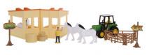 Farmársky set kone a stajne