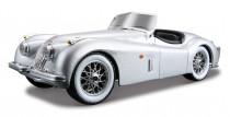 JAGUAR XX 120 ROADST./1951/1:24 stříbrný