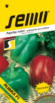 Semo Paprika zeleninová sladká F1 - Rubika F1 rýchl 15s