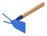 Okopávačka s nás. 27 cm - rovná 2 hroty