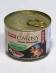 Animonda Carny cat konz. Junior - kuře,  králík 200 g