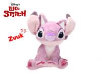 Lilo a Stitch - Angel plyšový 25 cm na baterie se zvukem
