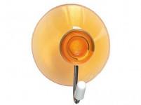 háčik s prísavkou 4cm plastový + kov. (4ks) - mix farieb