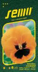 Semo Fialka sirôtková - sirôtka - oranžová s okom 0,3g