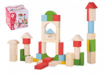 Building blocks wood 12m + - VÝPREDAJ