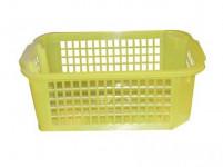 košík 37x26x14cm (mriežka) plastový, bi