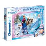 Puzzle Klenoty Ľadové Kráľovstvo 104 dielikov