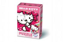 Puzzle Hello Kitty 20 dílků v krabičce 10x15cm