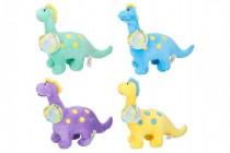 Dinosaurus plyš 28cm - mix barev