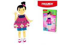 Paulinda Super Beads Jumbo 3D 10x8 mm 95 ks dievčatko s doplnkami