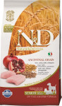 N & D Low Grain Dog Senior S / M Chicken & Pom. 2,5 kg