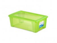 box úložný SCATOLA 5l, 32,5x19x11cm s vekom plastový, ZE