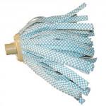 koncovka mopu pásky malé BÉŽ, závit jemný