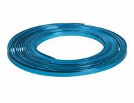 Drôt dekoračné hliníkový tyrkysový 10m 5mm