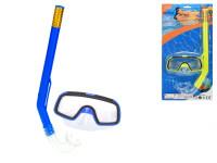 Potápěčská sada brýle 13,5 cm se šnorchlem 34 cm - mix barev