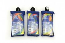 Drak lietajúci nylon 60x51cm v plastovom vrecku - mix variantov či farieb